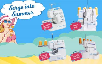 Serge into Summer with Juki Professional Sergers and Coverstitch Machines