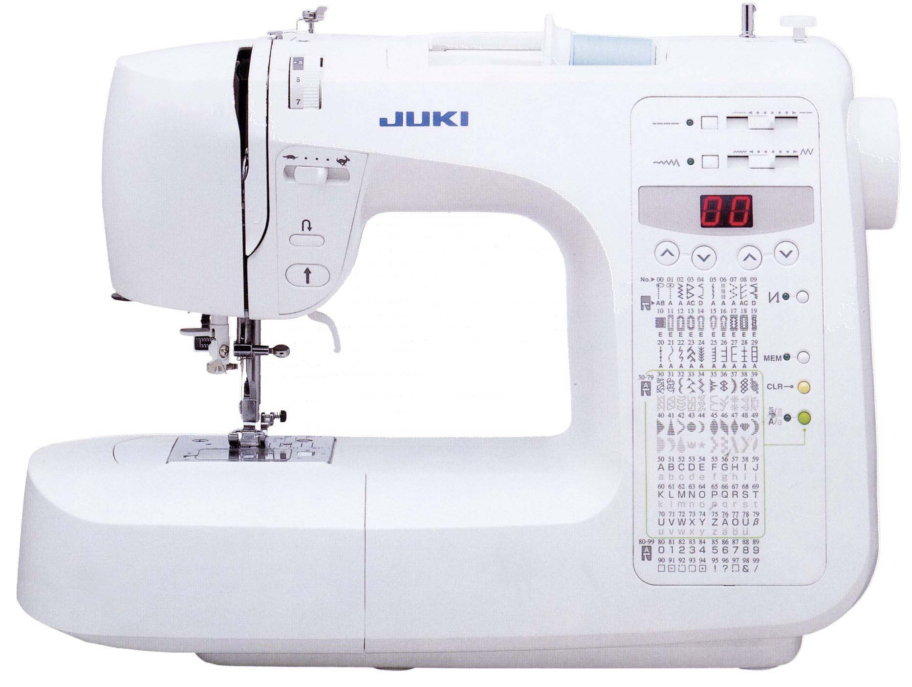 1-needle Household Sewing Machine with 70 Stitch Patterns and 1 Font