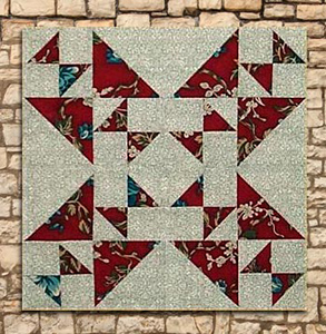 Star Cross Wall Hanging or Table Topper