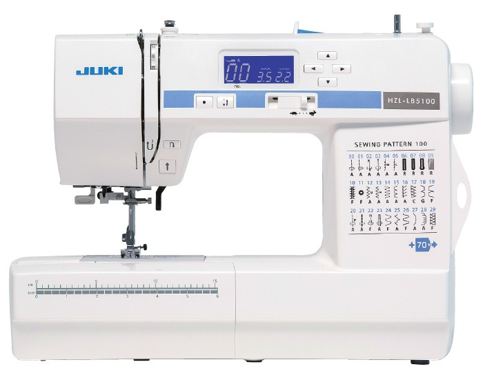 Compact Size Sewing Machine With 100 Sch Patterns