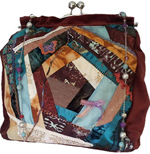 Easy Elegance Crazy Quilt Bag Purse